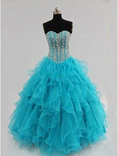This A-Line Prom Dress is fun and will great. This is a perfect prom dress under $200. http://www.okdressgown.com/special-occasion-dresses/prom-dresses/cheap-blue-sweetheart-long-prom-dress.html#.UmakevW1T9U #promdressesunder200