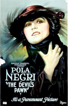Pola Negri in The Devil's Pawn(1918)