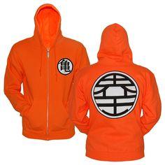 Dragonball Z Kame Symbol men hoodie