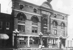 https://flic.kr/p/r4Lns5 | Lyceum Theatre est. 1909 | Description: Photograph of the exterior of the Lyceum Theatre on North Cumberland Street in Port Arthur, Ontario (date unknown).  Photo by Lovelady Bros.   Accession No.: 975.1.423