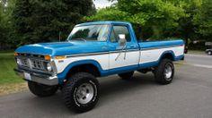 A Brief History Of Ford Trucks – Best Worst Car Insurance Old Pickup Trucks, Lifted Ford Trucks, 4x4 Trucks, Cool Trucks, F150 Truck, Small Trucks, Diesel Trucks, Chevy Trucks, 1979 Ford Truck