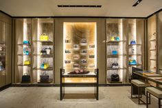 The new Fendi boutique at the Lotte World Tower in Seoul