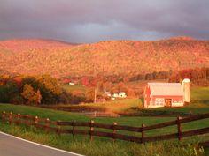 Edray (Marlinton), WV - Sunny-overcast fall morning