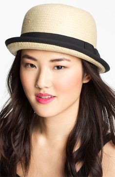 Tarnish Up Brim Woven Cloche available at Nordstrom