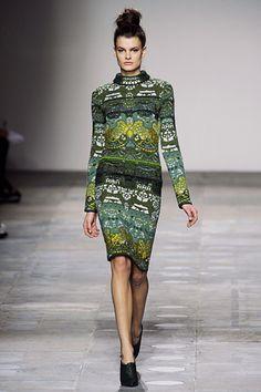 Mary Katrantzou;  Fall 2012 RTW-- love the colors/print!