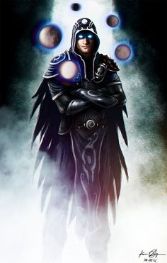 The Radiant One- Jace Beleren V2 by kaio89.deviantart.com on @DeviantArt