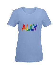 Gay Pride Shirts, True Colors, Lgbt, Lesbian, Light Blue, T Shirts For Women, Tops, Fashion, Moda