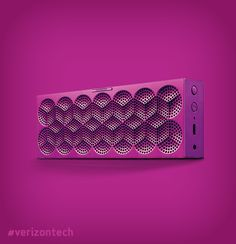 For All: Big, beautiful sound that fits into your back pocket. The Jawbone® Mini Jambox lets you take incredible music wherever you want to go. @Verizon