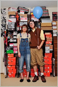 halloween costume / young Carl and Ellie from Up I know ive pinned this like three times, but its so darned cute.