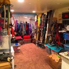 A Look Inside The Country S Raddest Gear Sheds Geargoals Storage Room Garage