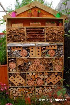 Greener Places Insect Hotel Insekthotel Pinterest