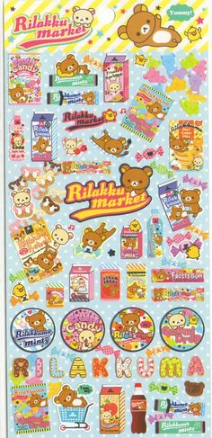Cute and Crazy Japanese Stickers at M.Autio