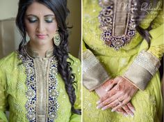 Real #wedding as seen in www.lavishdulhanmagazine.com Photo Credit: Krista Fox #indianbride #hair #extensions #henna | #Airbrush #Makeup & #Hair by www.nicolerichards.co