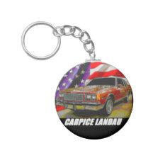 1986 Caprice Classic Landau Coupe Basic Round Button Keychain