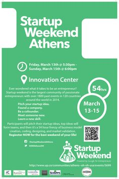 startup weekend March PK 6x4