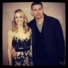 Check out THE VOW stars Rachel McAdams and Channing Tatum on their European press tour in Germany. See in theatres February Rachel Mcadams, Pretty People, Beautiful People, Star Wars, Press Tour, Canadian Actresses, Channing Tatum, Mean Girls, Celebs