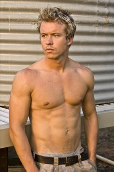 Todd Lasance - currently playing Julius Caesar on STARZ Network's Spartacus: War of the Damned