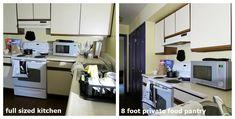 Kitchen and dining area Renaissance Village Suites LLC Plattsburgh NY Student Housing