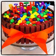 cake I made for the boyfriend yesterday :)