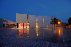 idis turato overlaps old and new with krk sports hall + square - designboom   architecture & design magazine