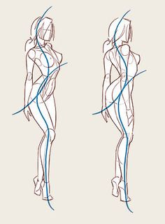 New Fashion Drawing Figure Character Design 30 Ideas Drawing Female Body, Drawing Body Poses, Body Reference Drawing, Human Figure Drawing, Figure Sketching, Gesture Drawing, Art Reference Poses, Drawing Tips, Drawing Proportions