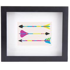 Medium Framed Print Arrows