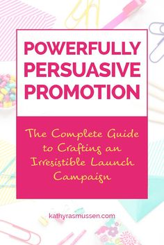 Learn how to create a launch promotion campaign that will captivate your audience and convert them into paying customers without being salesy or sleazy.
