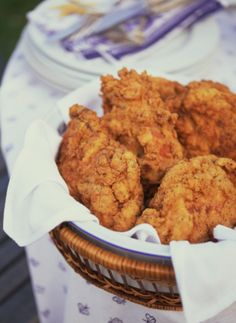 Oven Fried Chicken...This is the recipe Lizet went by, and she said it was very good.
