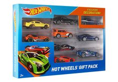 Amazon.com: Hot Wheels 9-Car Gift Pack (Styles May Vary): Toys & Games