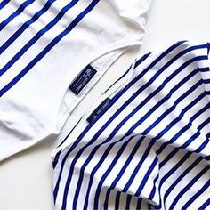 """""""Keeping things simple with Saint James classic stripes, photo by @__m__h__r__ Garder les choses simples avec #SaintJames rayures classiques; photo de @__m__h__r__"""" Photo taken by @saintjames on Instagram, pinned via the InstaPin iOS App! http://www.instapinapp.com (04/28/2016)"""