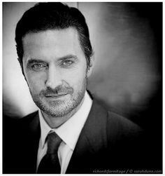 """When you look at this you just say """"Ït is the eyes, it is the smile, it is the beard, it is his beautiful face - no it is Richard""""  Richard Armitage © Sarah Dunn Photography."""