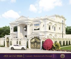 Welcome to our studio!We will propose the best variants to adorn your home! This exterior makes a great first impression!