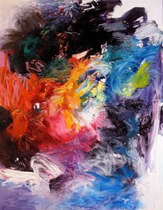"""Saatchi Art Artist Stricher Gerard; Painting, """"Le Borgne et le Papillon"""" #art"""