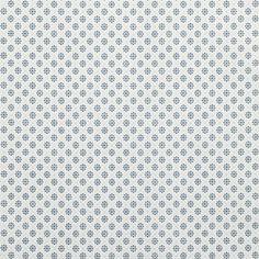 Tissu popeline imprimé micro motif bleu Mondial Tissus