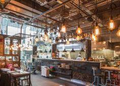 Inspiring yet practical lighting solutions for hotels, restaurants, bars, pubs and retail. Bright Color Schemes, Bar Design Awards, Cafe Lighting, Lighting Ideas, Light Project, Restaurant Bar, Northern Lights, Dining, Interior