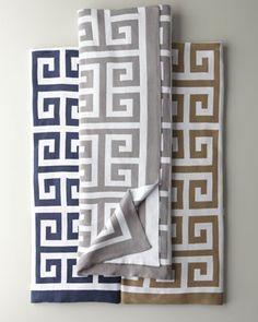"""Arcadia"" Lap Throw, 50"" x 70"" by Matouk at Neiman Marcus."