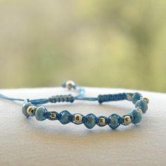 Raya in Light Blue – LucaLove Bracelets