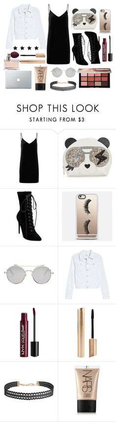 """""""bold"""" by lynsay-1 on Polyvore featuring rag & bone/JEAN, Furla, Steve Madden, Casetify, Givenchy, AG Adriano Goldschmied, Charlotte Russe, Humble Chic, NARS Cosmetics and Prada"""