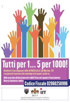 Campagna 5x1000 Ospedale San Martino