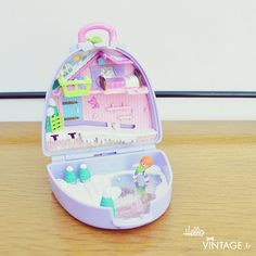 Polly Pocket vintage Snow Mountain - Hello Vintage shop