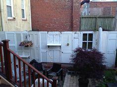 A fantastic fence idea!!  Love it!