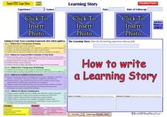 This is a tutorial on How to Write a Learning Story. It provides a simple and easy step by step approach on what you need to include in order to compl...