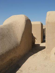 Uzbekistan Termez Fayz Tepe Buddhist Temple, 2000 years old monastery complex.