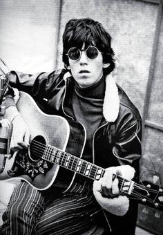 Keith Richards, RCA Studios in Los Angeles, 1965.