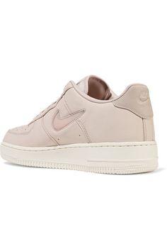 Nike - Nikelab Air Force 1 Leather Sneakers - Pastel pink - US7.5