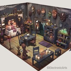 More Concept Art From The Sims 4! - Sims Globe