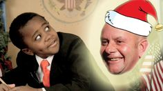 How to Write a Letter to Santa (with Nick Hornby & Kid President) Cute way to get your kids excited about the writing process