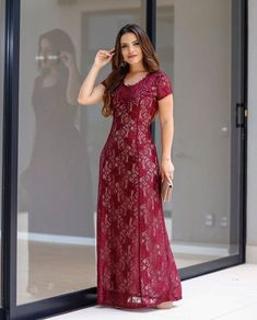 plus size 2 piece swimdress plus size one piece swimsuit with support .Want to know more about Plus Size Clothing In Fashion, CLICK VISIT LINK ABOVE! Modest Dresses, Elegant Dresses, Beautiful Dresses, Nice Dresses, Girls Dresses, Baby Girl Dress Design, Printed Gowns, Latest African Fashion Dresses, The Dress