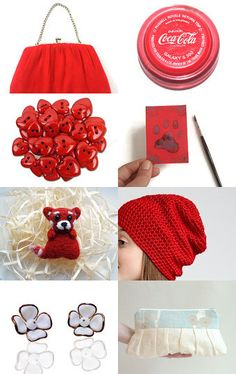 Red and white by Remioni on Etsy--Pinned with TreasuryPin.com