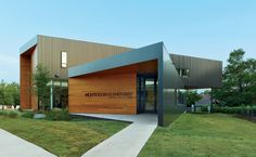 Fayetteville Montessori Elementary School by Marlon Blackwell Architect in Fayetteville, Arkansas